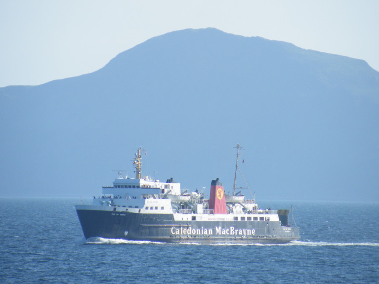 Stranded ferry passengers were left on the Isle of Arran in south-west Scotland. The Brodick-Ardrossan route on the Forth of Clyde is served a pair of ferries one of which AFLOAT pictured above, the Isle of Arran is offshore of its island namesake.