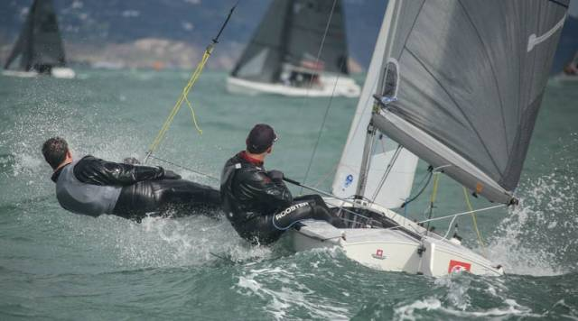 Royal St. George Yacht Club Pair Barry McCartin and Conor Kinsella counted five straight race wins