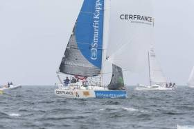 Dolan and Bouroullec's Smurfit Kappa-Cerfrance was less than ten miles ahead of La Droulec and Berrehar's Concarneau Entreprendre in the rankings on Friday