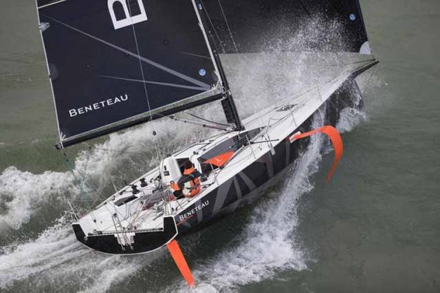 A mixed foiling keelboat, of a type still to be confirmed, has been added to the Olympic Sailing Competition for Paris 2024. Above a French made Beneteau Figaro 3 foiler that may yet fit the bill for the 2024 regatta