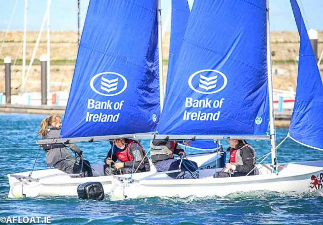 Team Racing is Ireland's fastest growing form of sailing and is fun, inclusive and competitive for all levels of sailing
