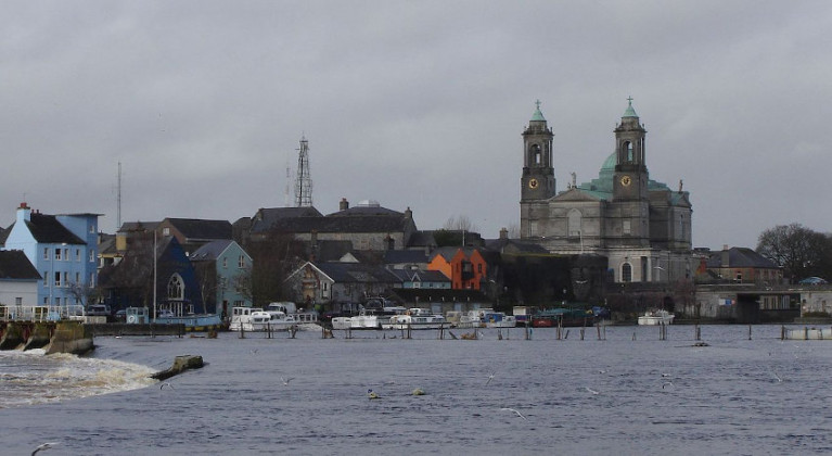 The River Shannon at Athlone