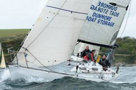 Waterford Harbour visitor Slack Alice was second in class two IRC at the Kinsale Spring Series