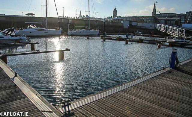 Dun Laoghaire Marina on Dublin Bay is Ireland's largest marina facility with over 800 berths