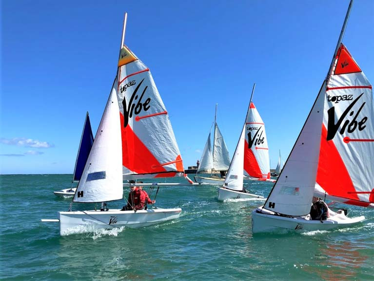 The Shanahan Team Racing Cup will be raced in Topaz dinghies