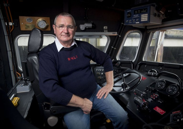 Bill Deans MBE, lifeboat operations manager at Aberdeen RNLI