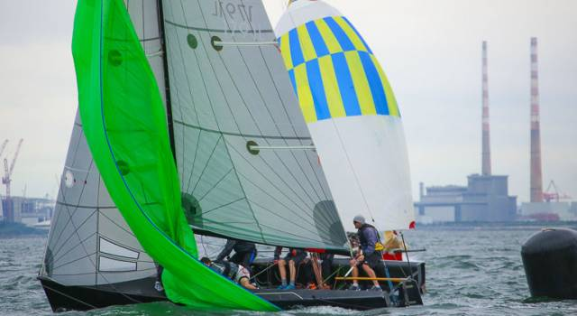 The 1720 sportsboats are holding their European Championships as part of the Sovereign's Cup