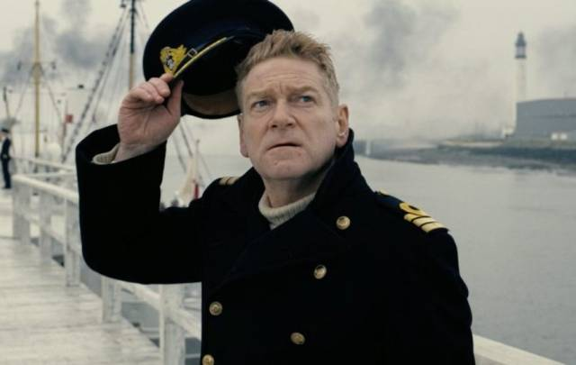 Belfast actor Sir Kenneth Branagh in the acclaimed 2017 film Dunkirk which is to shown on board HMS Caroline, a WW1 light battle-cruiser berthed as a major visitor attraction in Belfast Harbour.