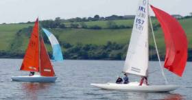 Squibs and Dragons raced at the Kinsale Keelboat regatta