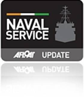 Warship Navigation Systems Contract Signing with Naval Service