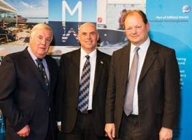 Welsh National Assembly Member for Preseli Pembrokeshire, Paul Davies, hosted an event this week in the capital Cardiff. Attending the event was the Port of Milford Haven, Pembrokeshire County Council and partners on the Milford Haven Waterway to showcase the vibrant economic cluster of the largest port in Wales.