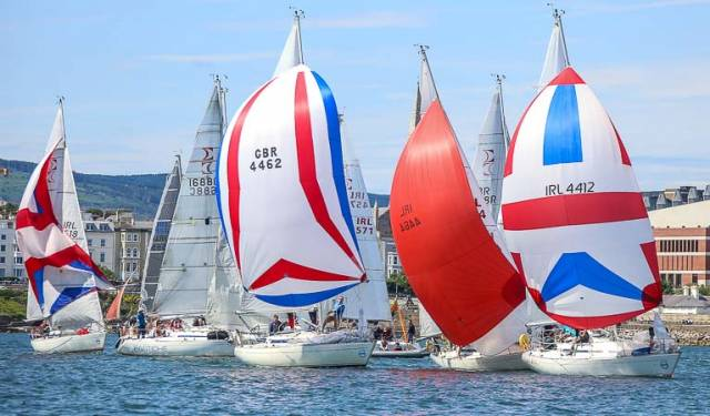 The Royal St. George Yacht Club organisers have confirmed 23 entries, being 161 competitors from five countries for this weekend's Championships on Dublin Bay