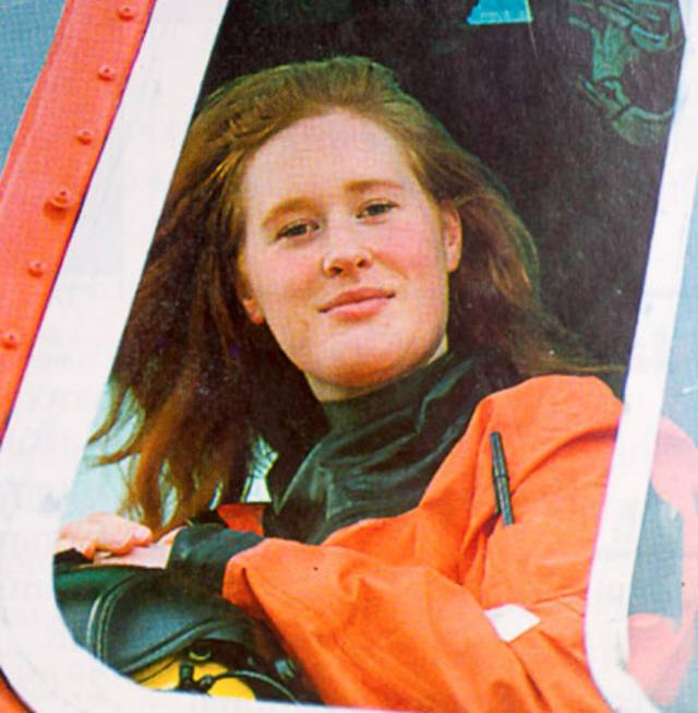 Capt Dara Fitzpatrick as pictured in a 1994 issue of Afloat magazine