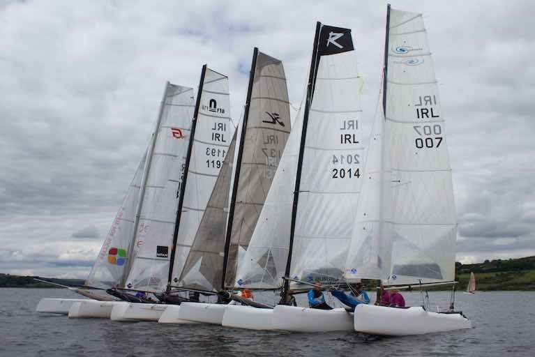 Multihulls will race for Irish Open Championship honours in October on Belfast Lough