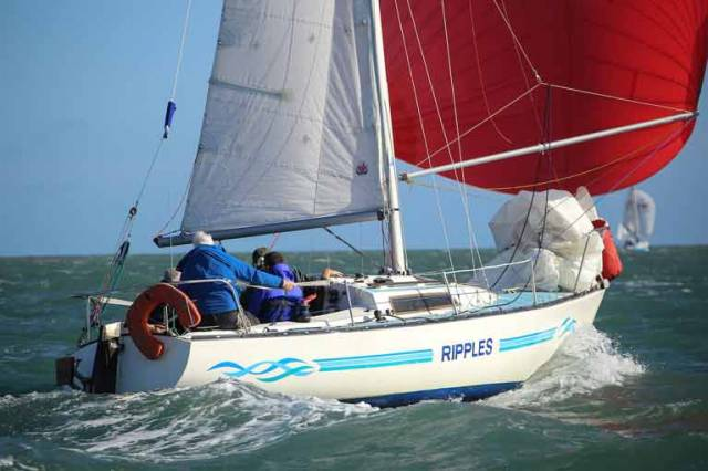 The Ruffian 23 class is one of 20 classes racing from Dun Laoghaire this Summer