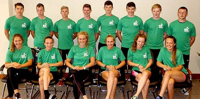 Ireland's Coupe de la Jeunesse Rowing team are in action in Poland this weekend