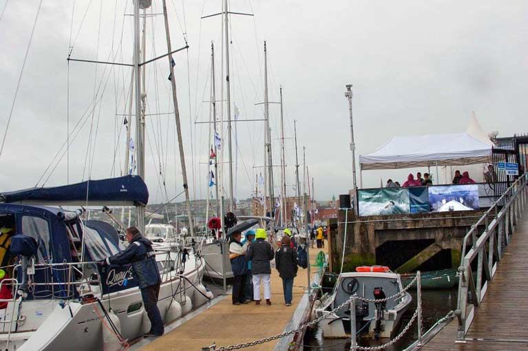 Foyle Port Marina in the North West of Ireland is Now Open to Visitors