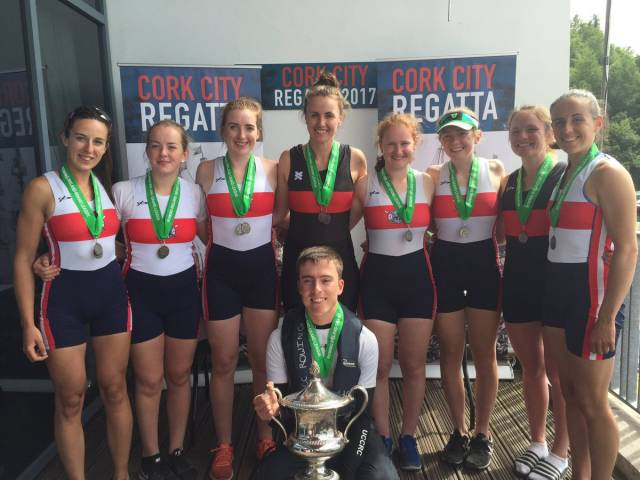 UCC/Skibbereen won at Cork Regatta and will hope to retake the Women's Eight title at the Irish Championships.