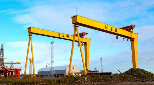 Takeover deal for the world-famous manufacturer, Harland & Wolff, would represent one of the biggest NI corporate transactions in recent years. AFLOAT adds Anvil Point was the last ship built at the Belfast yard in 2003. A decade later, the ro-ro ship became surplus to the UK's Ministry of Defence (MoD) requirements.