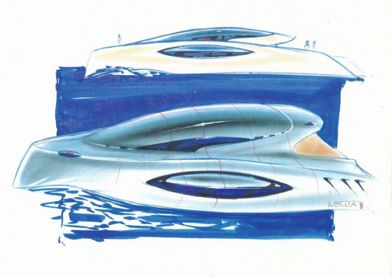 One of Julian Everitt's E-Boat concepts