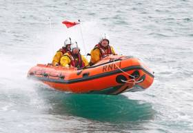 Fethard RNLI hopes to raise €65,000 towards the cost of a new D class lifeboat like this one at Littlehampton, West Sussex