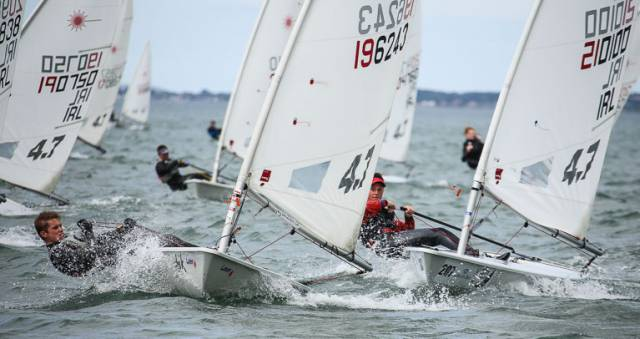 The Irish Laser Youth Championships was decided in Wexford