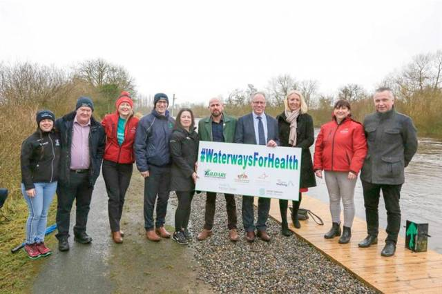 Waterways Ireland Encourages Locals In Kildare, Carlow & Laois To Get 'Walking On Water' This Spring
