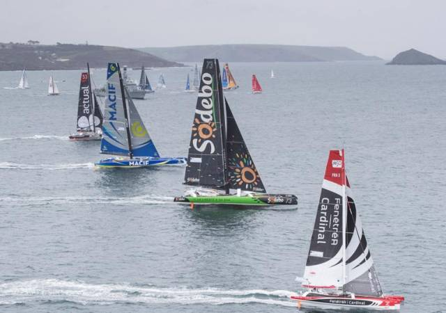 The Transat will start in Britain's Ocean City, Plymouth, on 10th May 2020