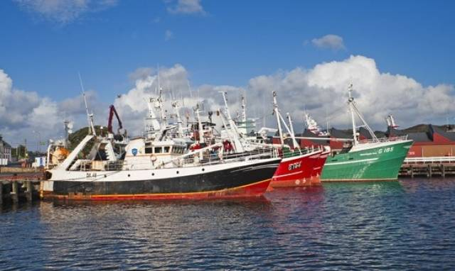 Trawlers in Killybegs, one of Ireland's six fishery harbour centres