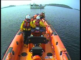 Carrybridge RNLI's inshore lifeboat, Douglas Euan & Kay Richards