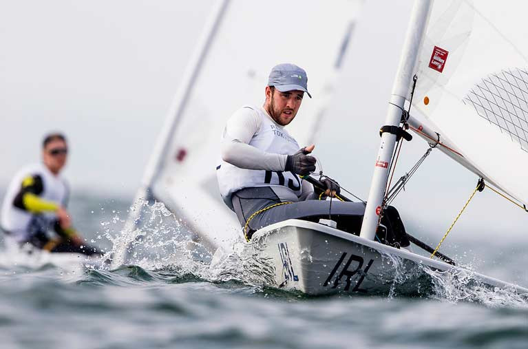 Irish sailor Finn Lynch is world-ranked 13th. If a world ranking determination is made for Tokyo it would see Ireland qualify for the Games in the mens Laser class