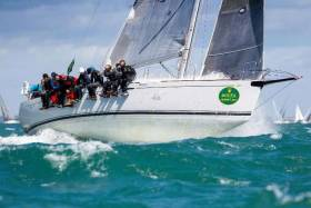 Double victory: Lisa, First 44.7, Nick & Suzi Jones (skippered by Michael Boyd for all races except De Guingand Bowl) has retained their 2016 title; once again securing the 2017 RORC Season's Points Championship for IRC overall as well as being announced the RORC Yacht of the Year