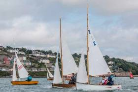 Rankin dinghies are expected to be among GISC's Gathering of Boats in Cork Harbour this Sunday