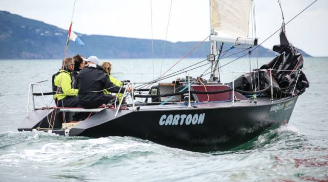 Ken Lawless and Sybil McCormacks' Cartoon from the Royal Irish YC will defend their ICRA Class 3 title next month in Cork Harbour