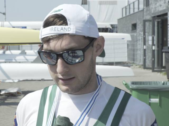 World Champion Paul O'Donovan. Scroll down for video.