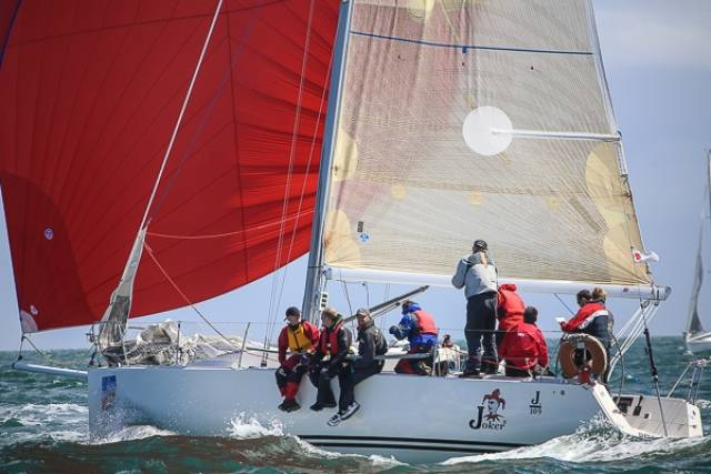 Beaufort Cup contender – Current Irish Class one national champion yacht Joker 2, a Dun Laoghaire J109, is sailing with a 100% military crew