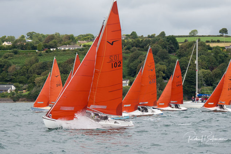 Squib Southern Championships racing on the Eastern Bank of Cork Harbour. Scroll down for slideshow from day two