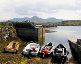 Derryinver in Connemara – the Land of the Sea. Connemara is planned as the 2020 setting for a Galway Bay SC Cruise-in-Company, following their successful visit to South Brittany in July 2019