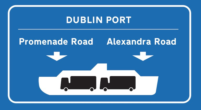 Dublin Port Completes Major Road Works & New Traffic Management Measures in Advance of Brexit
