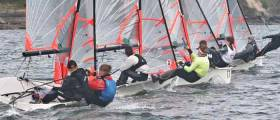 29er action at the Royal Sprints Championships in Crosshaven