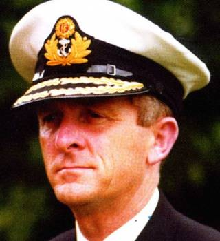 Commodore John Kavanagh, formerly Officer Commanding Naval Service. In 1979 as Captain John Kavanagh, he was in command of the LE Deirdre which played a central role in the Fastnet Disaster Rescue and was on station for longer than any other vessel