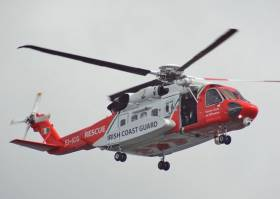 Rescue 115, the Sligo-based Irish Coast Guard Sikorsky S-92