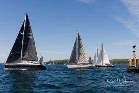 The start of the Triangle Race from Kinsale