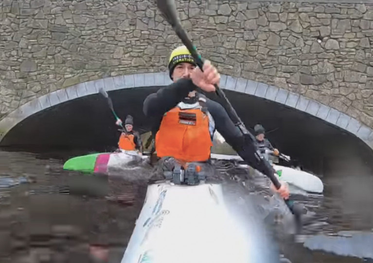 Top Canoe Coach Completes Seven Kayaking Marathons in Seven Days for Charity