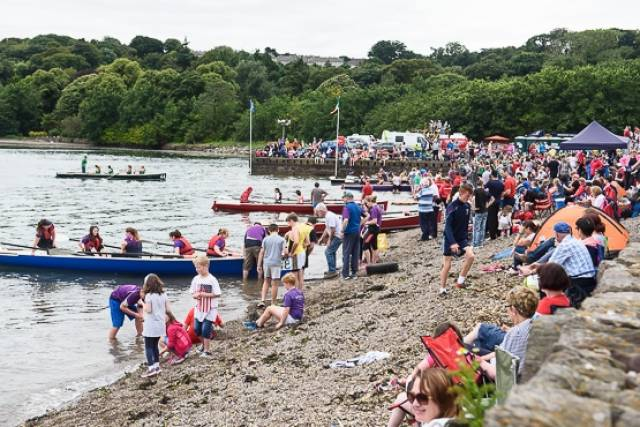 Cork County Coastal Rowing Championships were held today by Rushbrooke Rowing Club