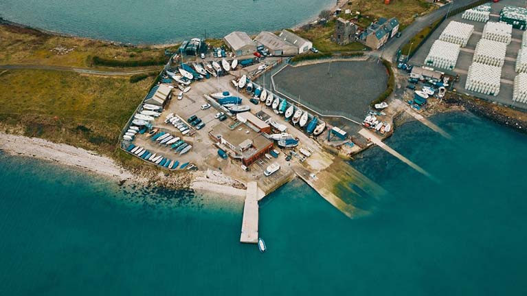 A birds eye view of EABC in Larne