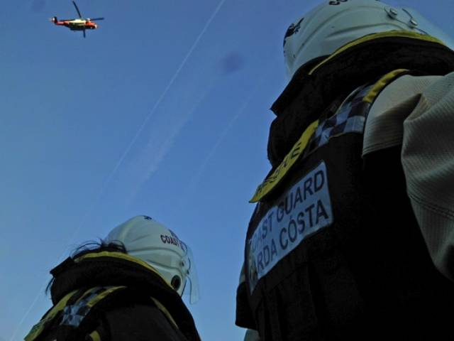 Coastguard Helicopters In Monday Morning Medevacs