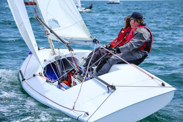 Niall Coleman's Flying Fifteen 'Flyer' from the National Yacht Club is one of 228 entries already received for next July's Volvo Dun Laoghaire Regatta on Dublin Bay
