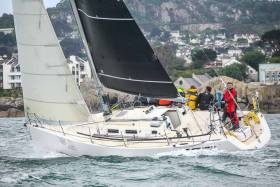 The INSS J109 Jedi (Kenny Rumball) has been chartered by Michael Boyd for tomorrow's Round Ireland Race from Wicklow. Forecasted light winds may favour the J109 design in the week long race