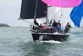 Jonny Swan's Half Tonner Harmony from Howth YC was the overall winner of Cork Week's in-harbour race using North Sails